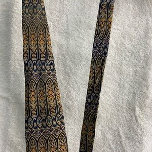 UNICEF Tie with Architectural detail